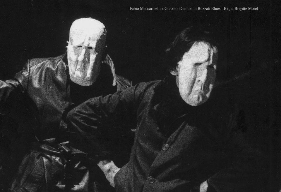 Giacomo e Fabio in Buzzati Blues